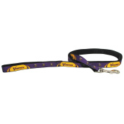 Minnesota Vikings Pet Dog Premium 1.8m Nylon Leash Lead Licenced MEDIUM