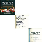 Warren Moon HOF 06 Signed Third and a Mile Book