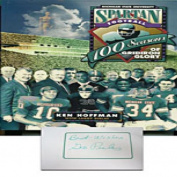 Geo Pules Autographed/Signed 100 Seasons of Gridiron Glory Book