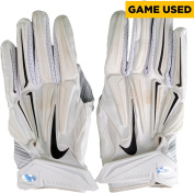 Josh Huff Philadelphia Eagles Game-Used White Nike Pair of Gloves vs New England Patriots on December 6, 2015 - Fanatics Authentic Certified