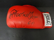 """Ed """"Too Tall"""" Jones Signed Boxing Glove Autograph Auto Y66505 - PSA/DNA Certified - Autographed Boxing Gloves"""
