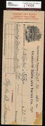BULLDOG TURNER VINTAGE JSA CERTED SIGNED cheque AUTHENTIC AUTOGRAPH