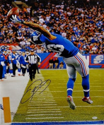 Odell Beckham Autographed NY Giants 20x24 The Catch Canvas- Authenticated - JSA Certified - Autographed NFL Art