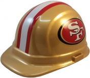 NFL San Francisco Forty-Niners Hard Hats with Ratchet Suspension