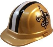 NFL New Orleans Saints Hard Hats with Ratchet Suspension