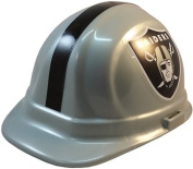 NFL Oakland Raiders Hard Hats with Ratchet Suspension