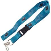 Carolina Panthers Blue Double-Sided Lanyard Keychain