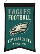 """Philadelphia Eagles Winning Streak """"Fly Eagles Fly"""" Franchise Banner"""