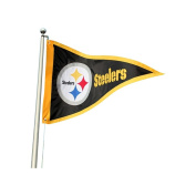 Party Animal Sports Team Logo Pittsburgh Steelers Giant Pennant