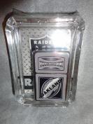 Oakland Raiders Oil Lighter and Ashtray Gift Set