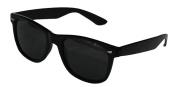 Black Lens Wayfarer Sunglasses - Style Unisex Shades UV400 Protective Mens Ladies