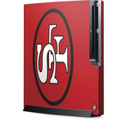 NFL San Francisco 49ers Playstation 3 & PS3 Slim Skin - San Francisco 49ers Retro Logo Vinyl Decal Skin For Your Playstation 3 & PS3 Slim