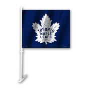 NHL Toronto Maple Leafs Unisex NHL Car Flagnhl Car Flag, Blue, One Size