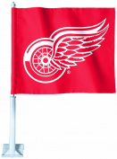 NHL Detroit Red Wings Car Flag