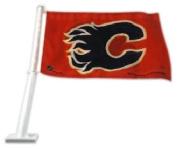 Calgary Flames NHL Licenced 11X14 Window Mount 2-Sided Car Flag