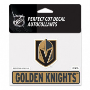 Vegas Golden Knights 4.5 X 5.75 Perfect Cut Decal