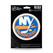 NHL New York Islanders Bling Die Cut Vinyl Decal with Backing