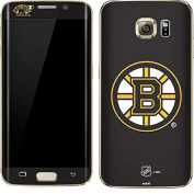 NHL Boston Bruins Galaxy S7 Edge Skin - Boston Bruins Solid Background Vinyl Decal Skin For Your Galaxy S7 Edge