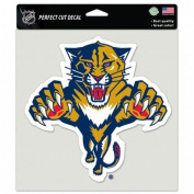 NHL Florida Panther 20cm x 20cm Perfect Cut Colour Decal