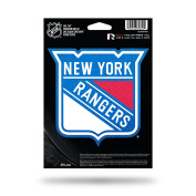 NHL New York Rangers Bling Die Cut Vinyl Decal with Backing