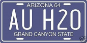Barry Goldwater Campaign AU H20 1964 Arizona Licence Plate