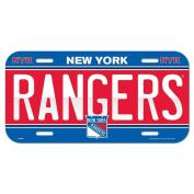 New York Rangers Licence Plate
