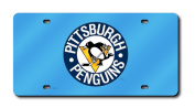 NHL Pittsburgh Penguins Laser-Cut Auto Tag