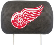 FANMATS NHL Detroit Red Wings Polyester Head Rest Cover