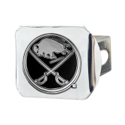 FANMATS NHL Buffalo Sabres Chrome Hitch Cover