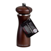 Cole & Mason Sherwood Forest Pepper Mill, Dark Brown, 165 mm