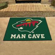 Minnesota Wild NHL Man Cave All-Star Floor Mat