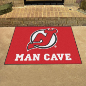 New Jersey Devils NHL Man Cave All-Star Floor Mat
