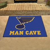 St. Louis Blues NHL Man Cave All-Star Floor Mat