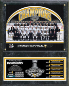 Pittsburgh Penguins 2016 Stanley Cup Champions Team Sit Down Plaque Wall Sign 38cm x 30cm