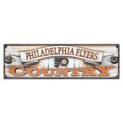 NHL Philadelphia Flyers WCR61105015 Wood Sign, 23cm x 80cm