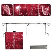 Detroit Red Wings 2.4m Portable Folding Tailgate Table Lightning Version