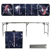Columbus Blue Jackets 2.4m Portable Folding Tailgate Table Lightning Version