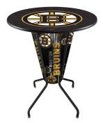 Lighted Boston Bruins Pub Table