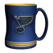 NHL St. Louis Blues Sculpted Relief Mug, 410ml