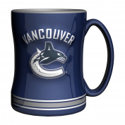 NHL Vancouver Canucks Sculpted Relief Mug, 410ml