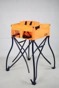Phoenix Baby Goto 2-in-1 Carseat Holder & Travel High Chair, Orange