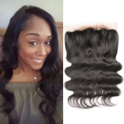 DSOAR HAIR 50cm Brazilian Body Wave 360 Lace Frontal Closure Natural Colour Tangle Free Remy Hair