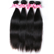 Free Queen Hair Brazilian Virgin Hair Straight 4pcs Brazilian Straight 100% Virgin Human Hair Weaves Hair Extensions