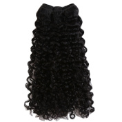 MY LADY 100% Indian Virgin Human Hair Kinky Curly Unprocessed Weave Hair 100g per Bundle