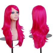 AneShe Wigs 70cm Long Wavy Hair Heat Resistant Cosplay Wig for Women