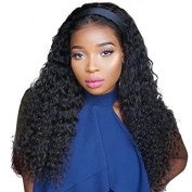 Ten Chopstics Wig 180% Density Curly Full Lace Human Hair Wigs Glueless Lace Front Wigs Brazilian Wig for Black Women Bleached Knots Natural Baby Hair