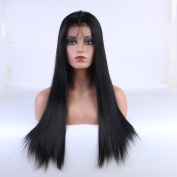 China Evlynn Hair Synthetic Lace Front Wig Straight With Baby Hair Glueless Lace Front Wig For Women