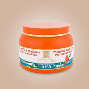 Health & Beauty Dead Sea Minerals - Carrot oil & Mud Mask for Dry Coloured Hair 250ml