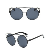 Niceskin Round Mirrored Sunglasses Shades for Women, Resin and Metal