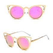 Niceskin Cat Eye Sunglasses UV400 Fashion Shades for Women, Metal and Resin